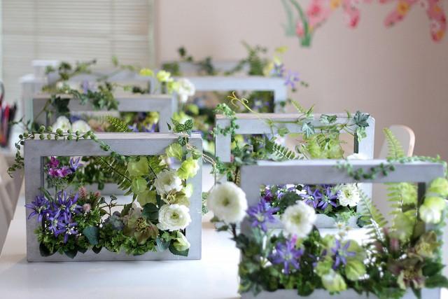 花のアトリエゆうゆ フラワーアレンジメント